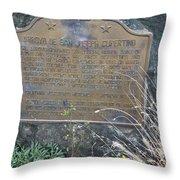 Ca-800 Arroyo De San Joseph Cupertino Throw Pillow