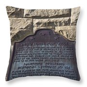 Ca-854 United States Post Office Throw Pillow