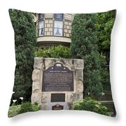 Ca-868 Winchester House Throw Pillow