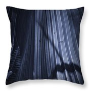 Cabbage Palm No. 2 Throw Pillow