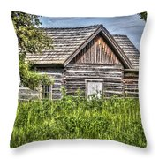 Cabin 1 Throw Pillow