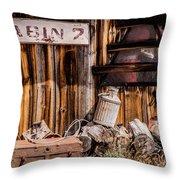 Cabin 2 Throw Pillow