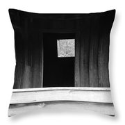 Cabin At Cades Cove Throw Pillow