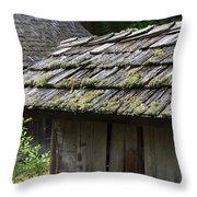 Cabin Community Throw Pillow