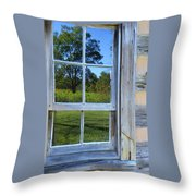 Cabin Reflections Throw Pillow