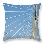 Cable Bridge Detail Throw Pillow