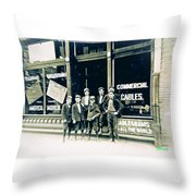 Cable Runners Throw Pillow
