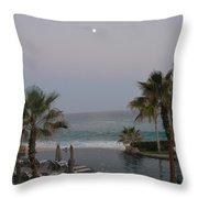 Cabo Moonlight Throw Pillow