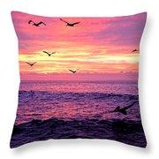 Cabo San Lucas Sunrise Throw Pillow