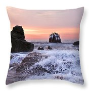 Cabo Sunrise Throw Pillow