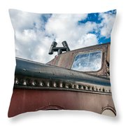 Caboose Roof Throw Pillow