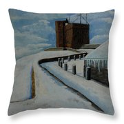 Cabot Tower Newfoundland Throw Pillow