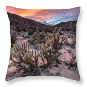Cac-dusk Throw Pillow