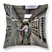 Cac001-117 Throw Pillow