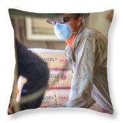 Cac003-45 Throw Pillow