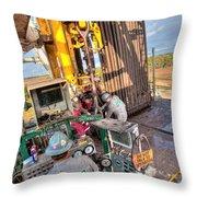 Cac005-17 Throw Pillow