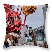 Cac005-90 Throw Pillow