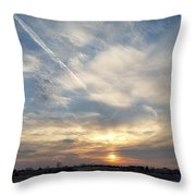 Cacophony Throw Pillow