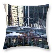 Cactus Club Cafe II Throw Pillow