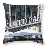 Cactus Club Throw Pillow