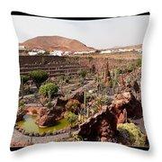 Cactus Paradise Throw Pillow