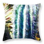 Cactus Pillar Throw Pillow