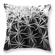 Cactus Thorn Pattern Throw Pillow