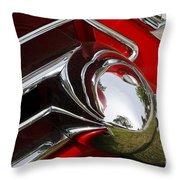 Cad Chrome Throw Pillow