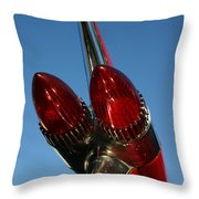 Caddie Lights Throw Pillow