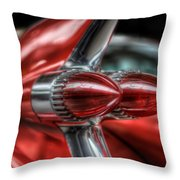 Caddy Back Light Throw Pillow