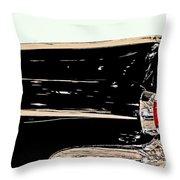 1959 Buick Electra 225 Fins Throw Pillow