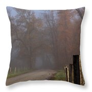 Cades Cove Color II Throw Pillow