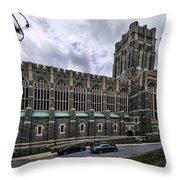 Cadet Chapel Exterior Throw Pillow