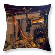 Cadillac Heartbeat Throw Pillow