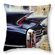 Cadillac Attack Throw Pillow