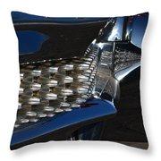 Cadillac Bumper Throw Pillow
