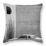 Cadillac Drive Palm Springs Throw Pillow