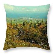 Cadillac Mountain  Throw Pillow