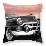 Cadillac Sunset Throw Pillow