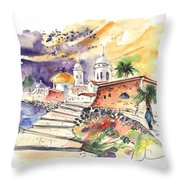 Cadiz Spain 01 Throw Pillow