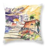 Cadiz Spain 01 Throw Pillow