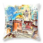 Cadiz Spain 02 Throw Pillow