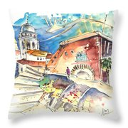 Cadiz Spain 03 Throw Pillow