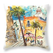 Cadiz Spain 04 Throw Pillow