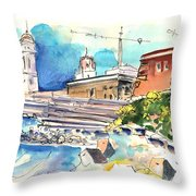 Cadiz Spain 11 Throw Pillow