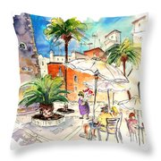 Cadiz Spain 13 Throw Pillow