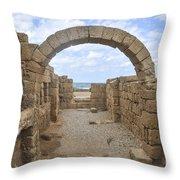 Caesarea The Hippodrome Throw Pillow