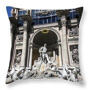 Caesars Palace Throw Pillow