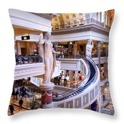 Caesars Palace - Las Vegas Throw Pillow