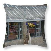 Cafe Abodegas Throw Pillow